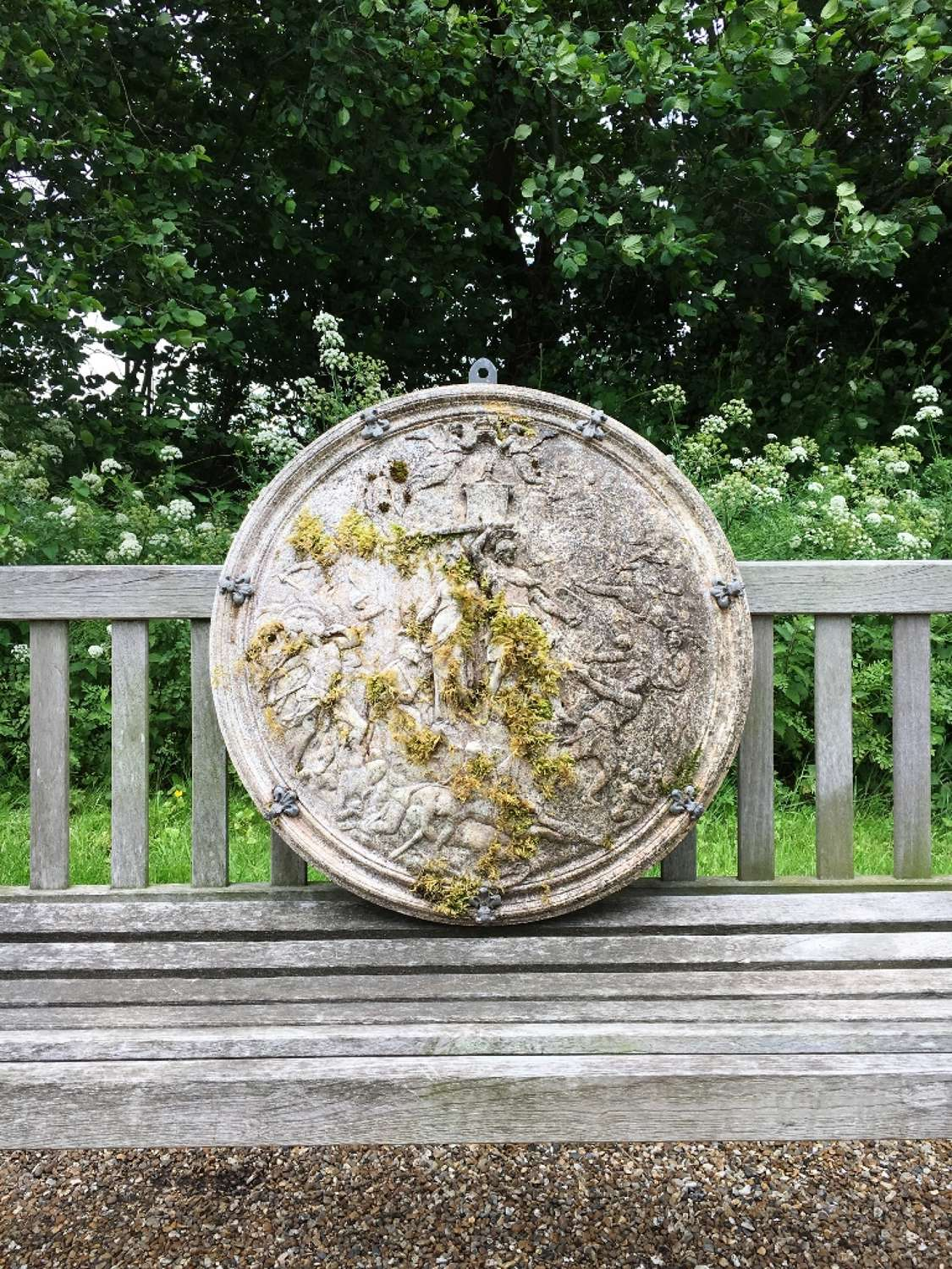 Mossy Wall Plaque