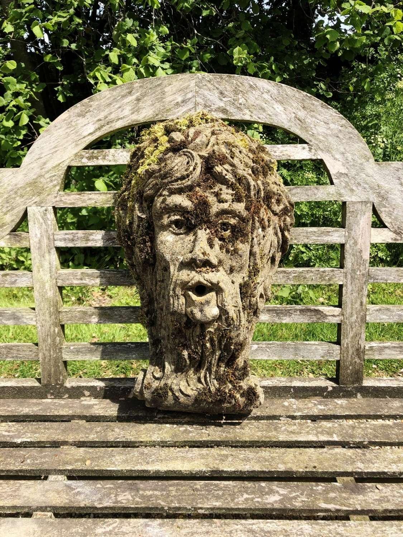 Mossy Wall Fountain