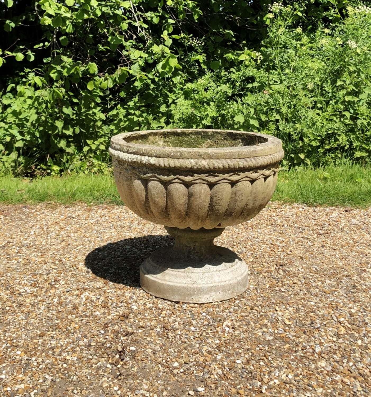Weathered Urn Planter