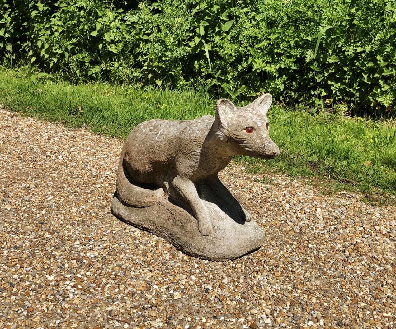 Large Weathered Fox