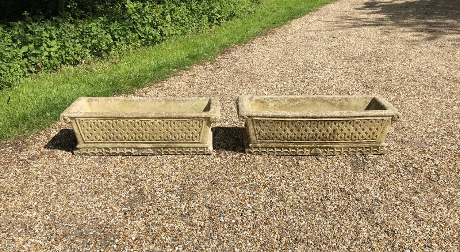 Pair of Cotswold Troughs