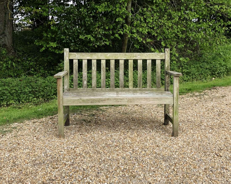 Small Garden Bench