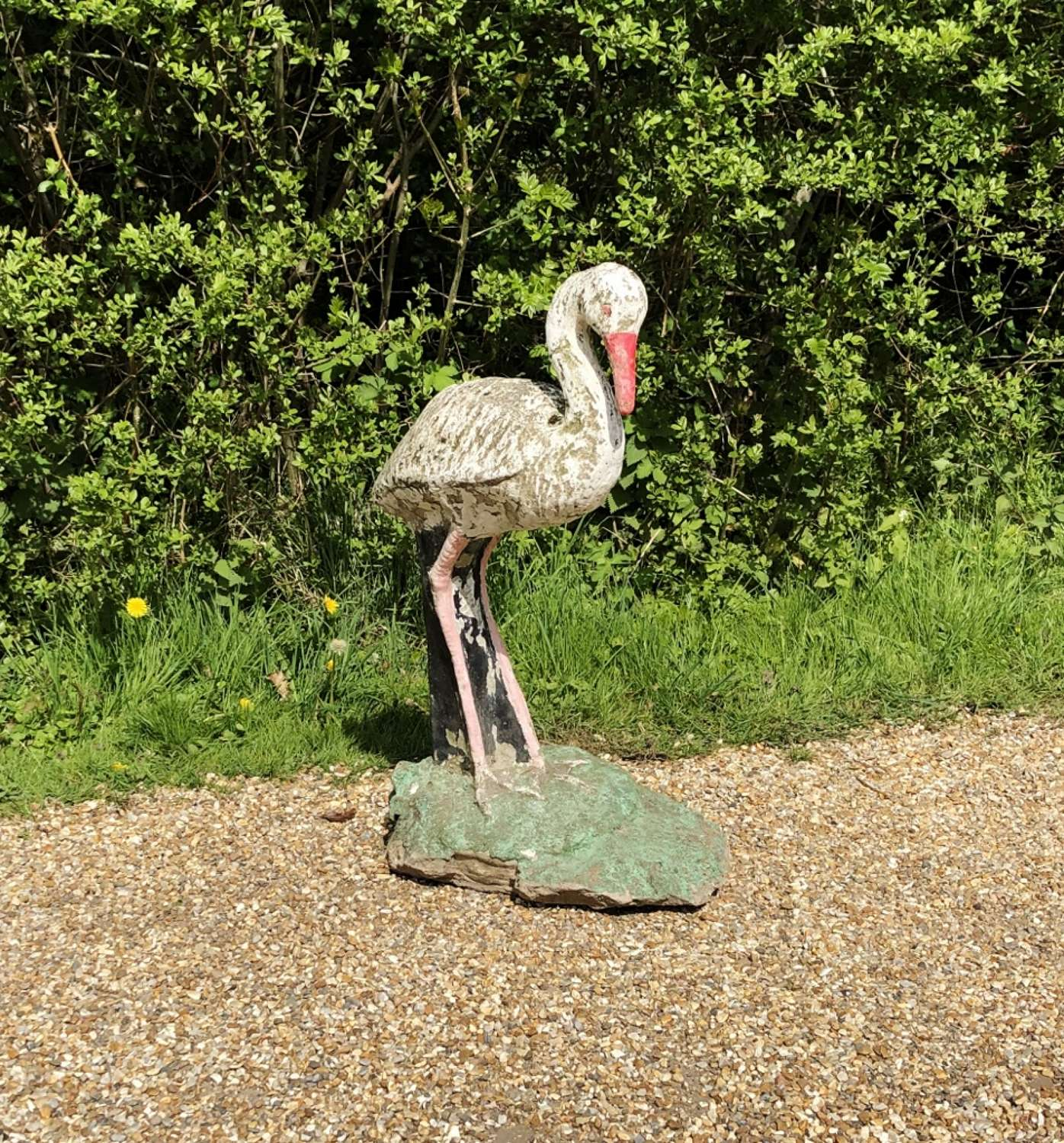 Large Painted Stork