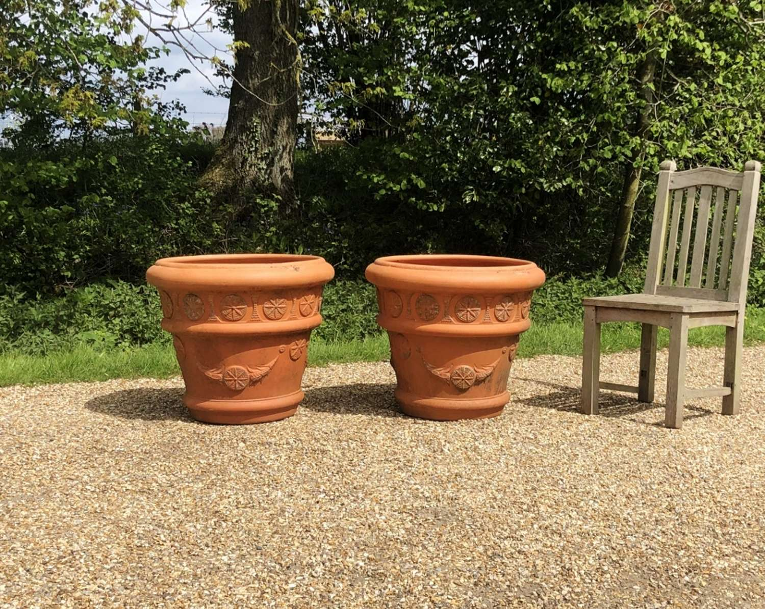 Pair of Large French Planters