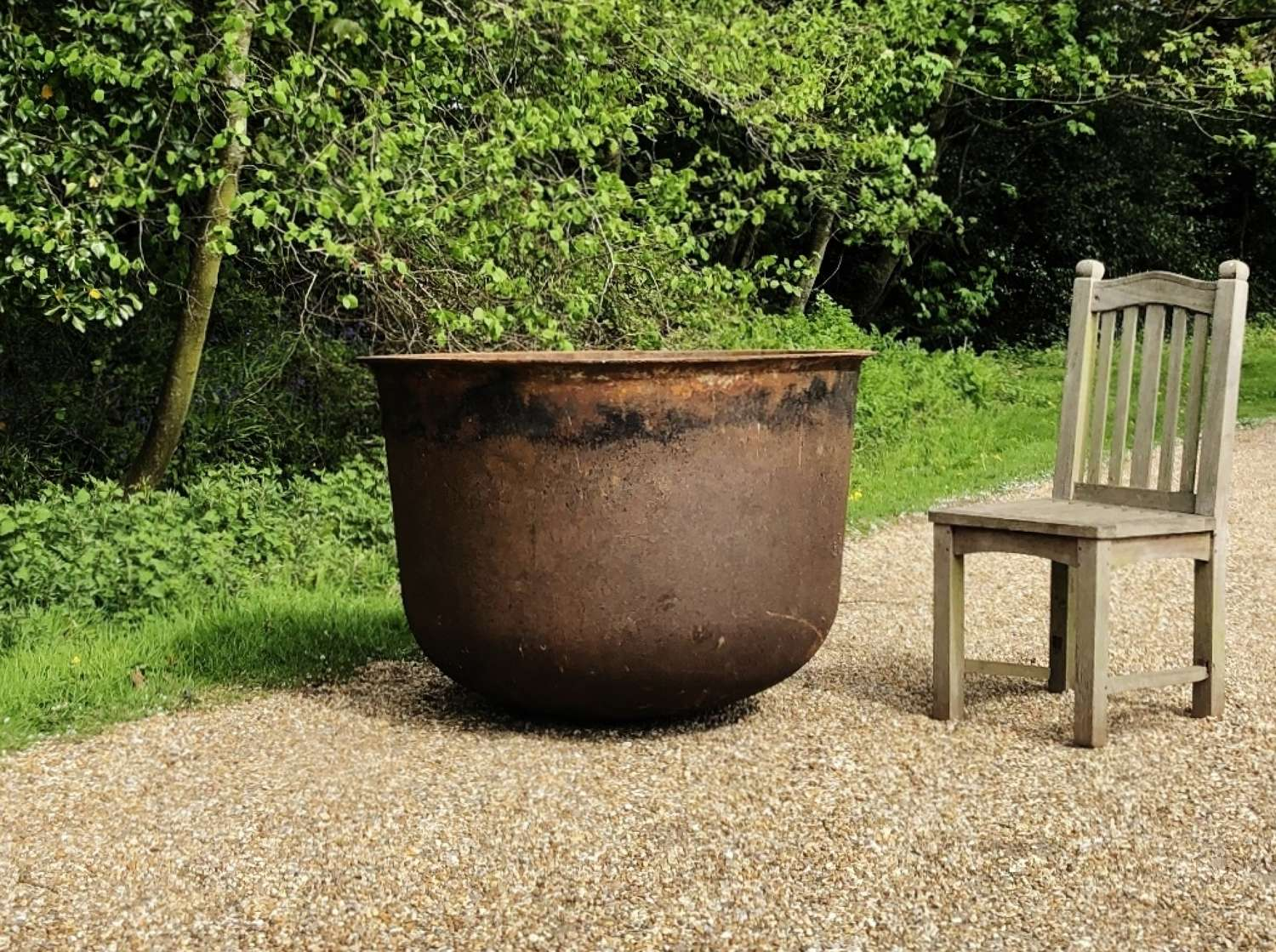 Very Large Iron Planter