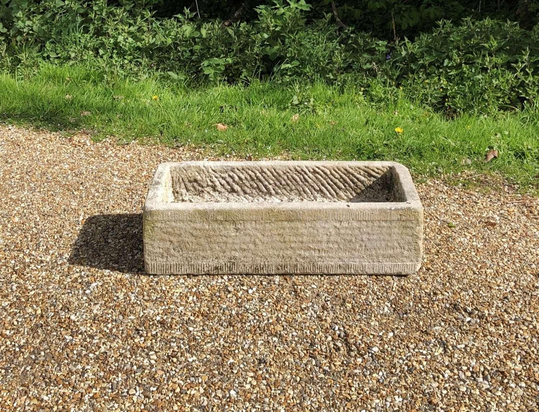 Small Limestone Trough