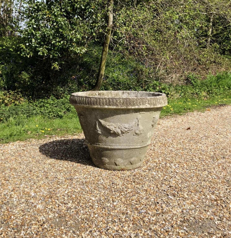 Stone Garland Planter