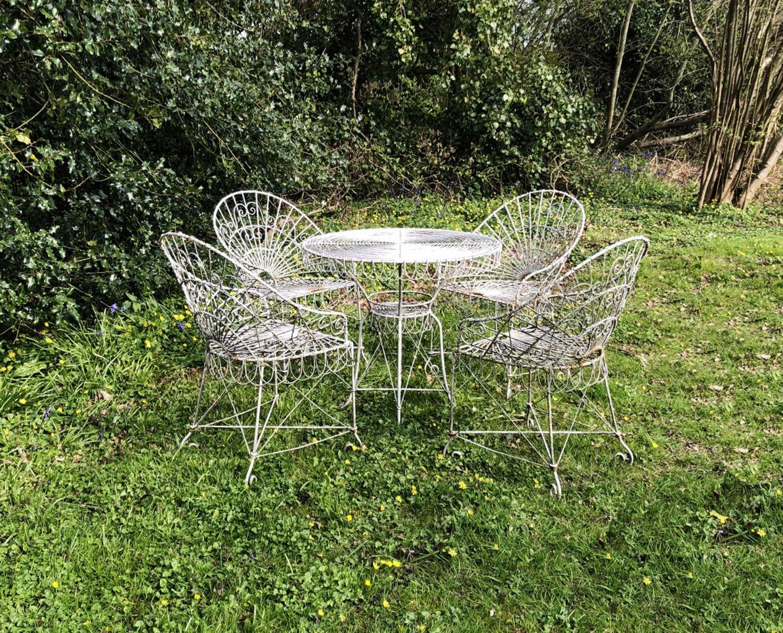 Wirework Seating Set