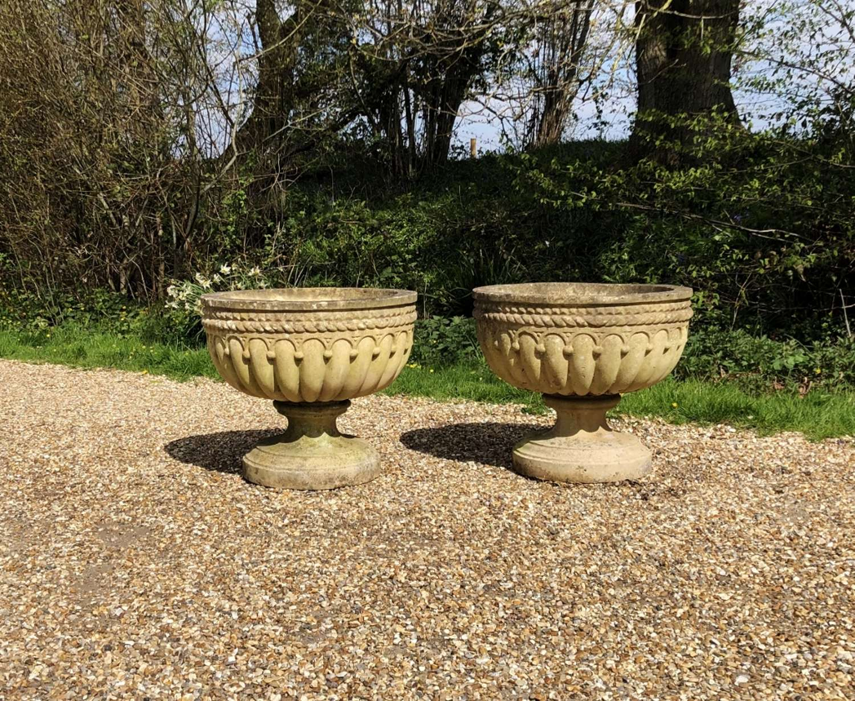 Pair of Urn Planters