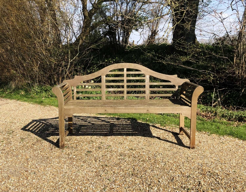 Lutyen Style Bench