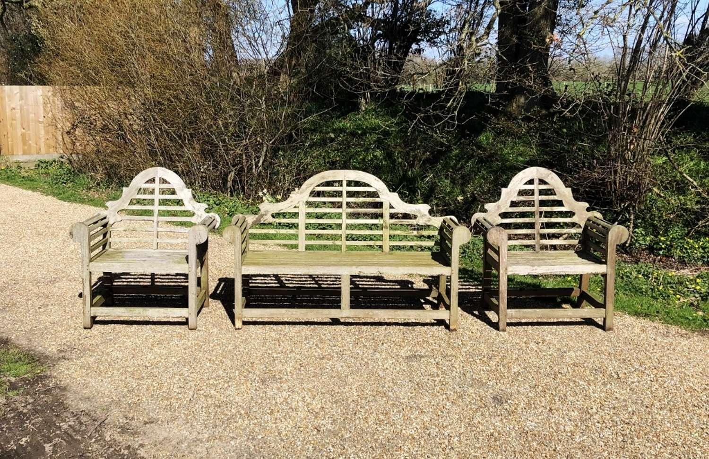 Lutyen Bench and Chairs