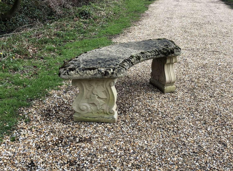 Ivy Stone Bench