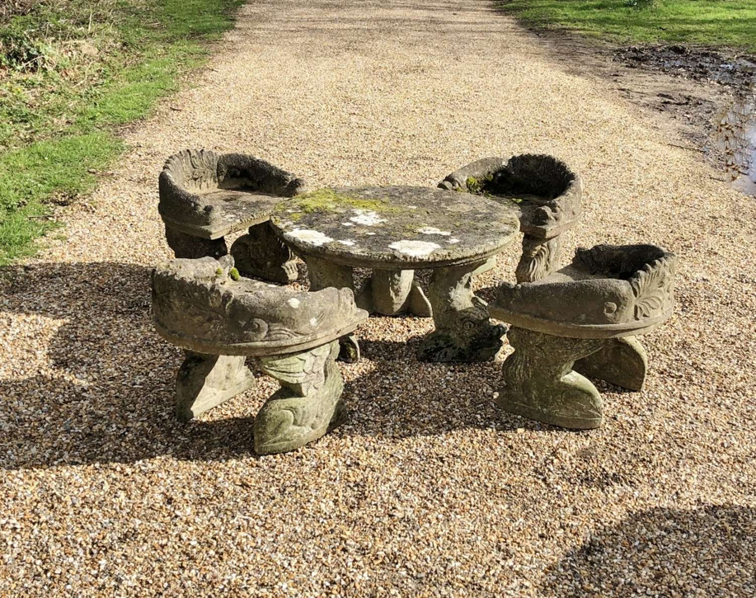 Children`s Mossy Seating Set