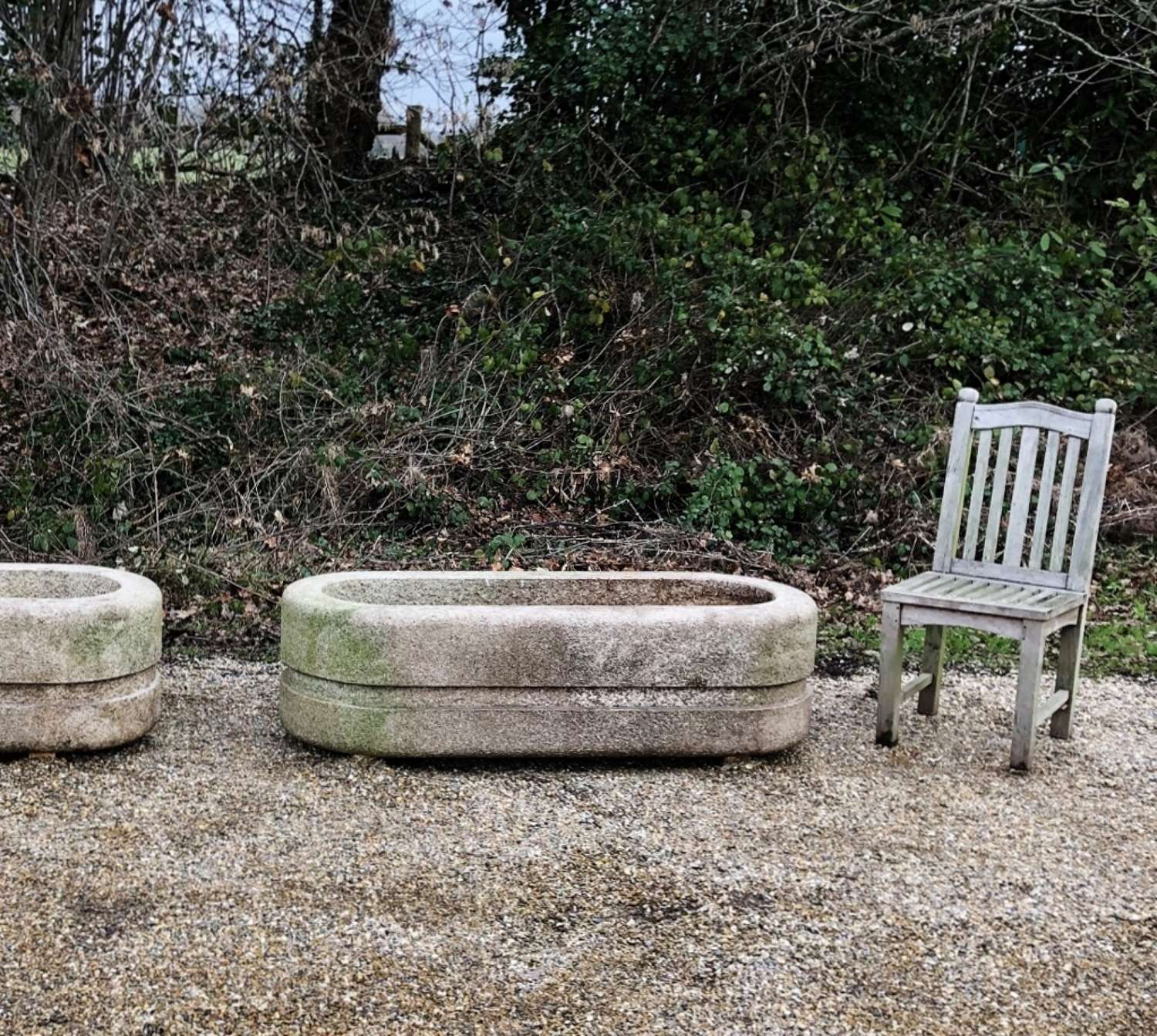 Large Stone Troughs