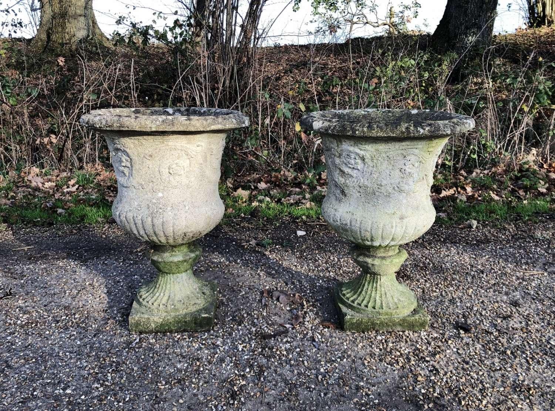 Pair of Campania Urns