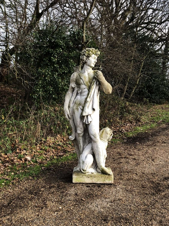 Large Hunter Statue