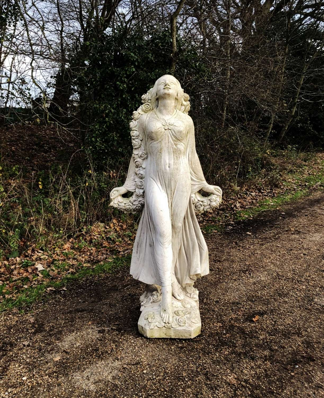 Large Goddess Statue
