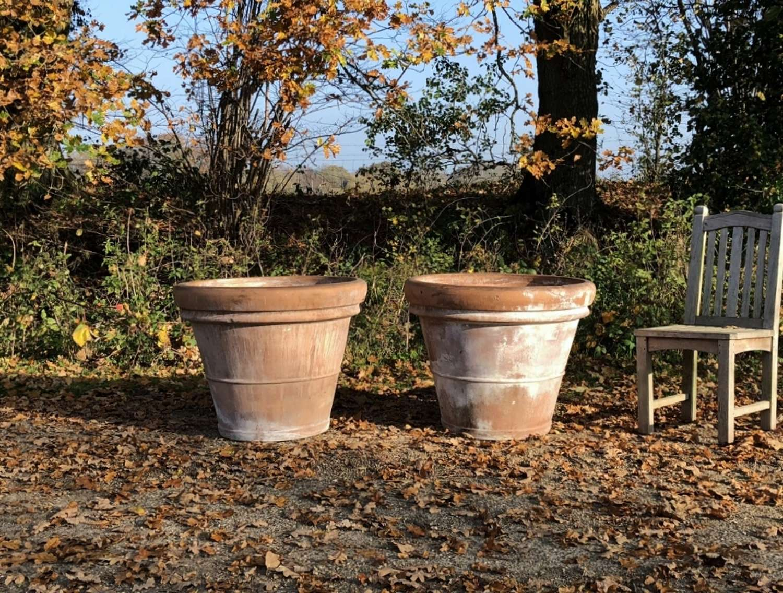 Large Terracotta Planters