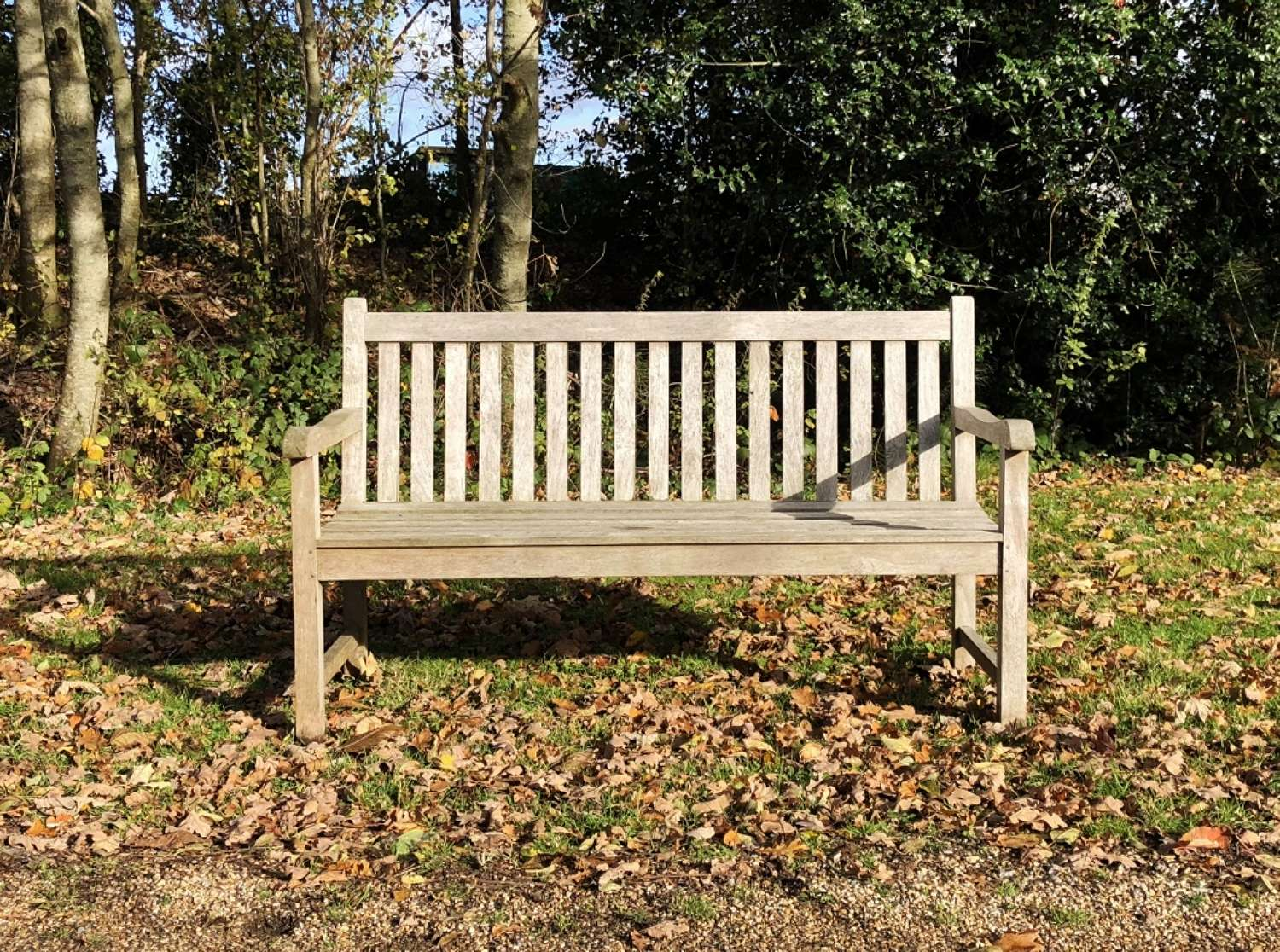 Small Traditional Garden Bench