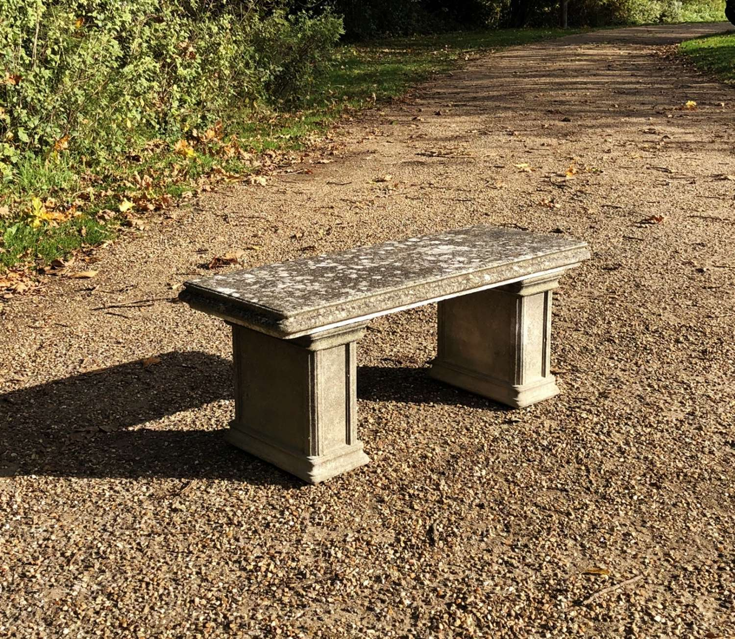 Very Small Stone Bench