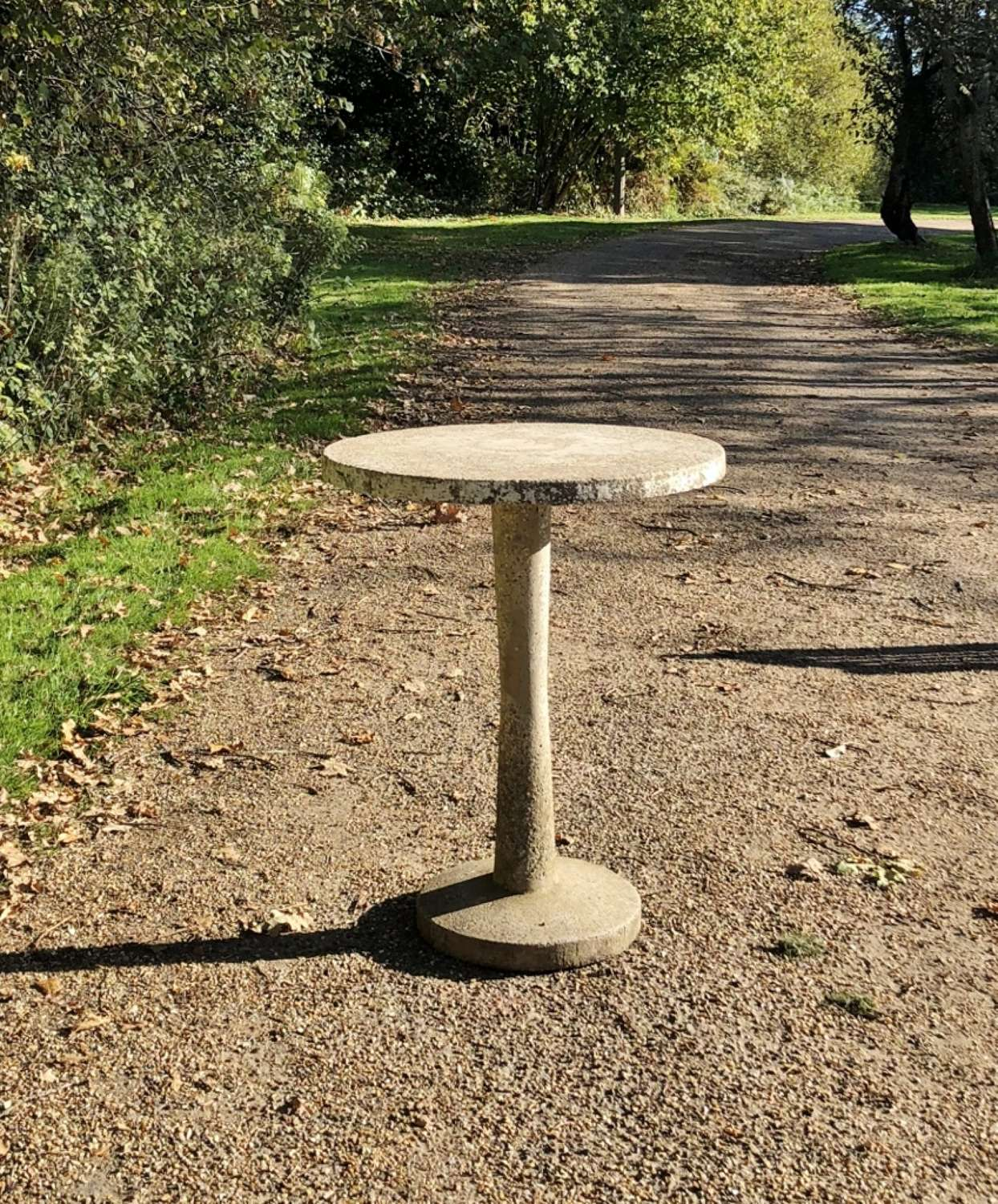 French Stone Bistro Table