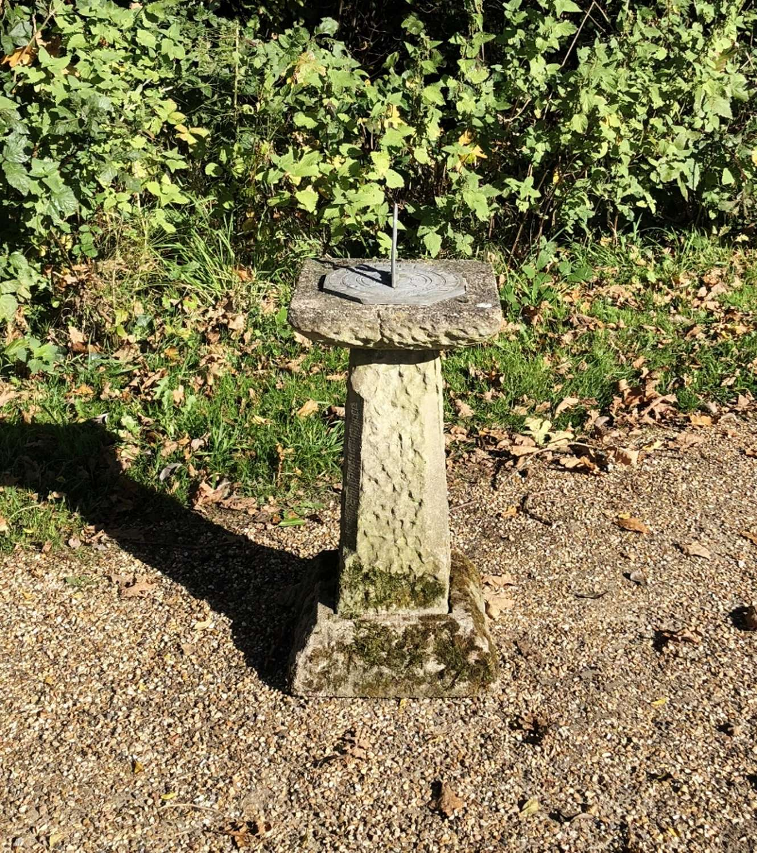 Mossy Sundial