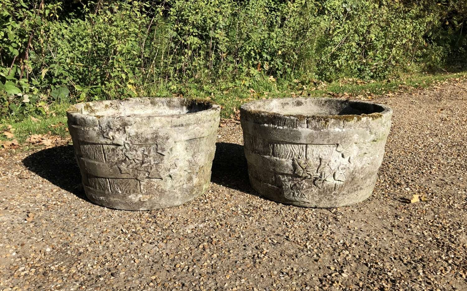 Pair of Ivy Planters