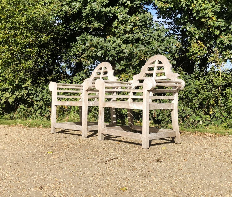 Pair of Lutyen Chairs