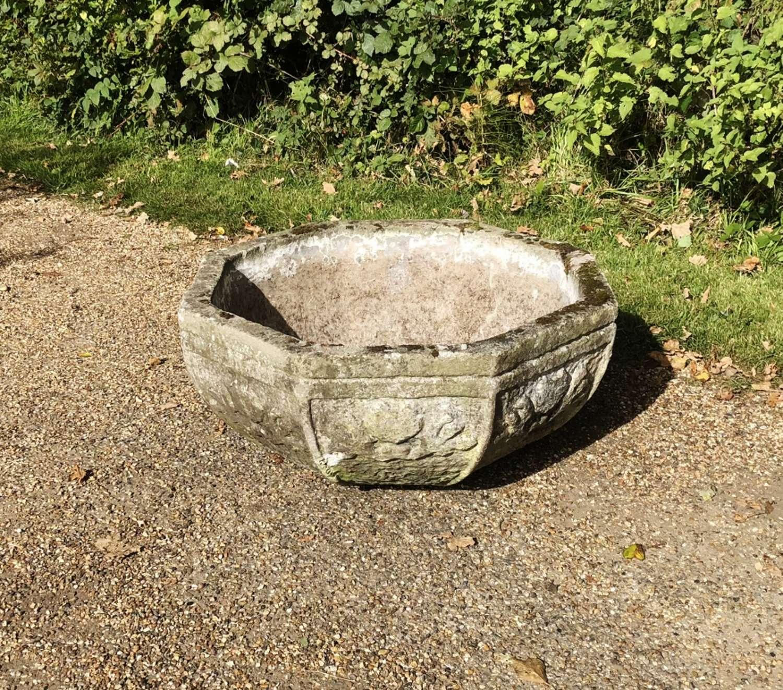Large Octagonal Bowl