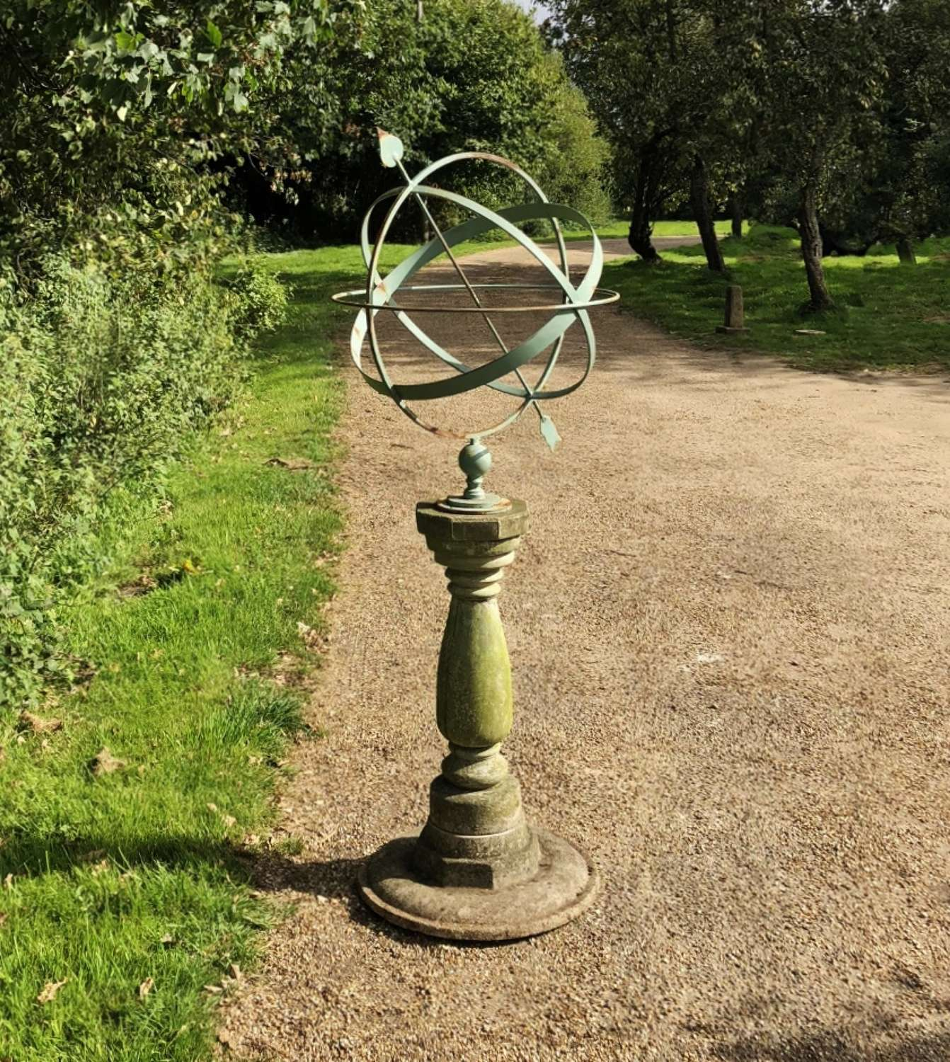 Armillary on Classic Base