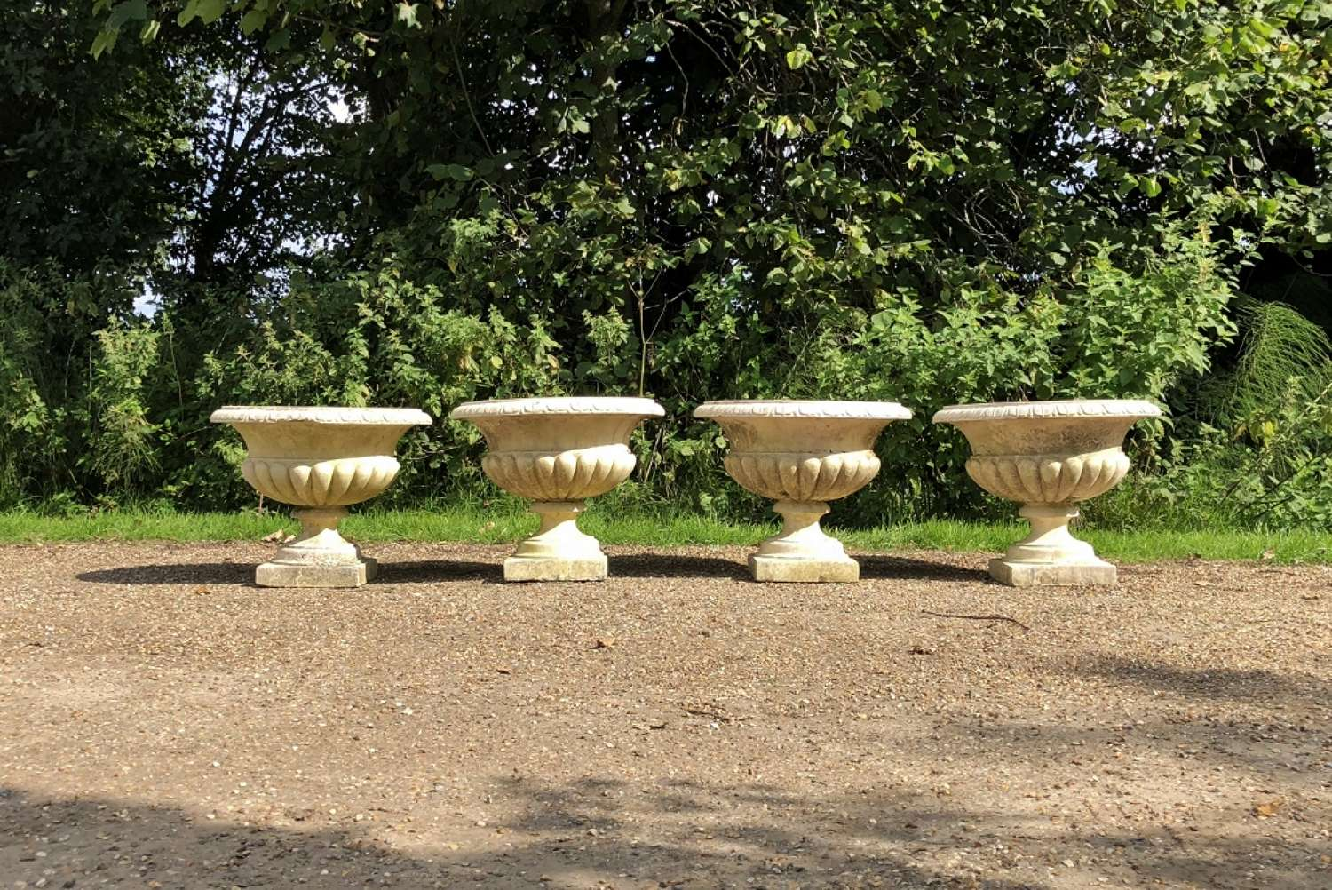 Set of 4 Classic Urns