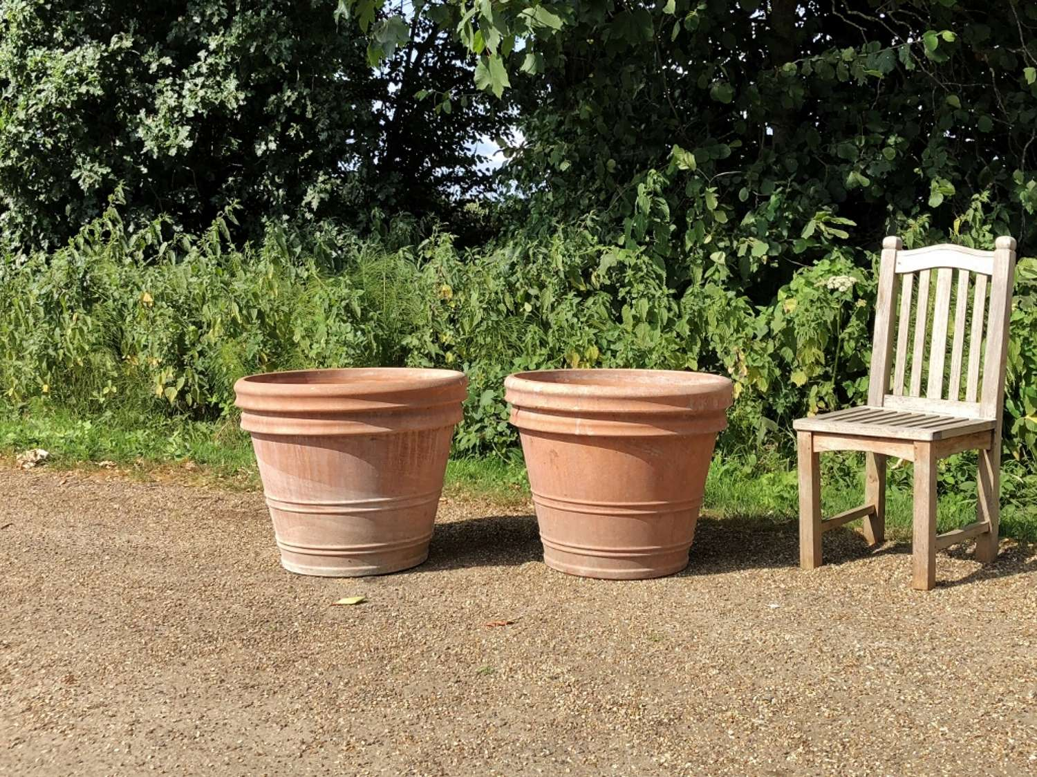 Pair of Large Italian Planters
