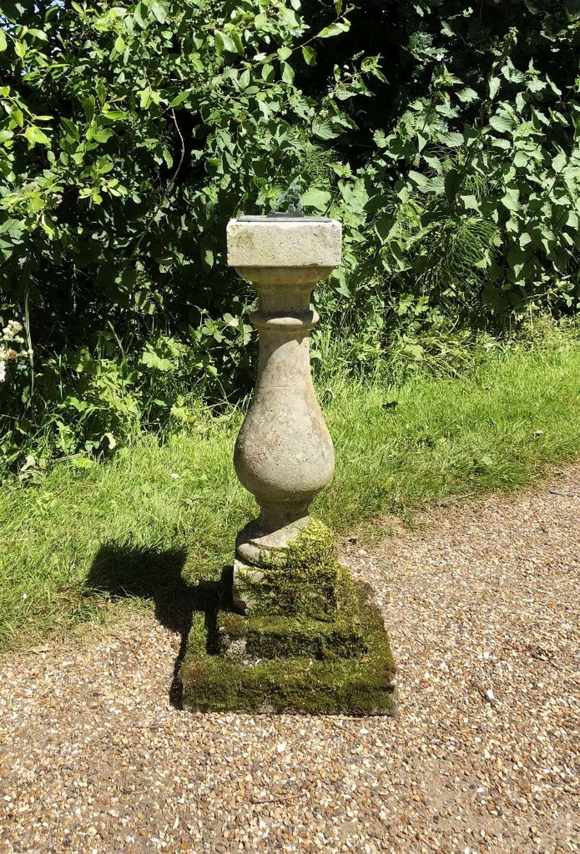 Small Mossy Sundial