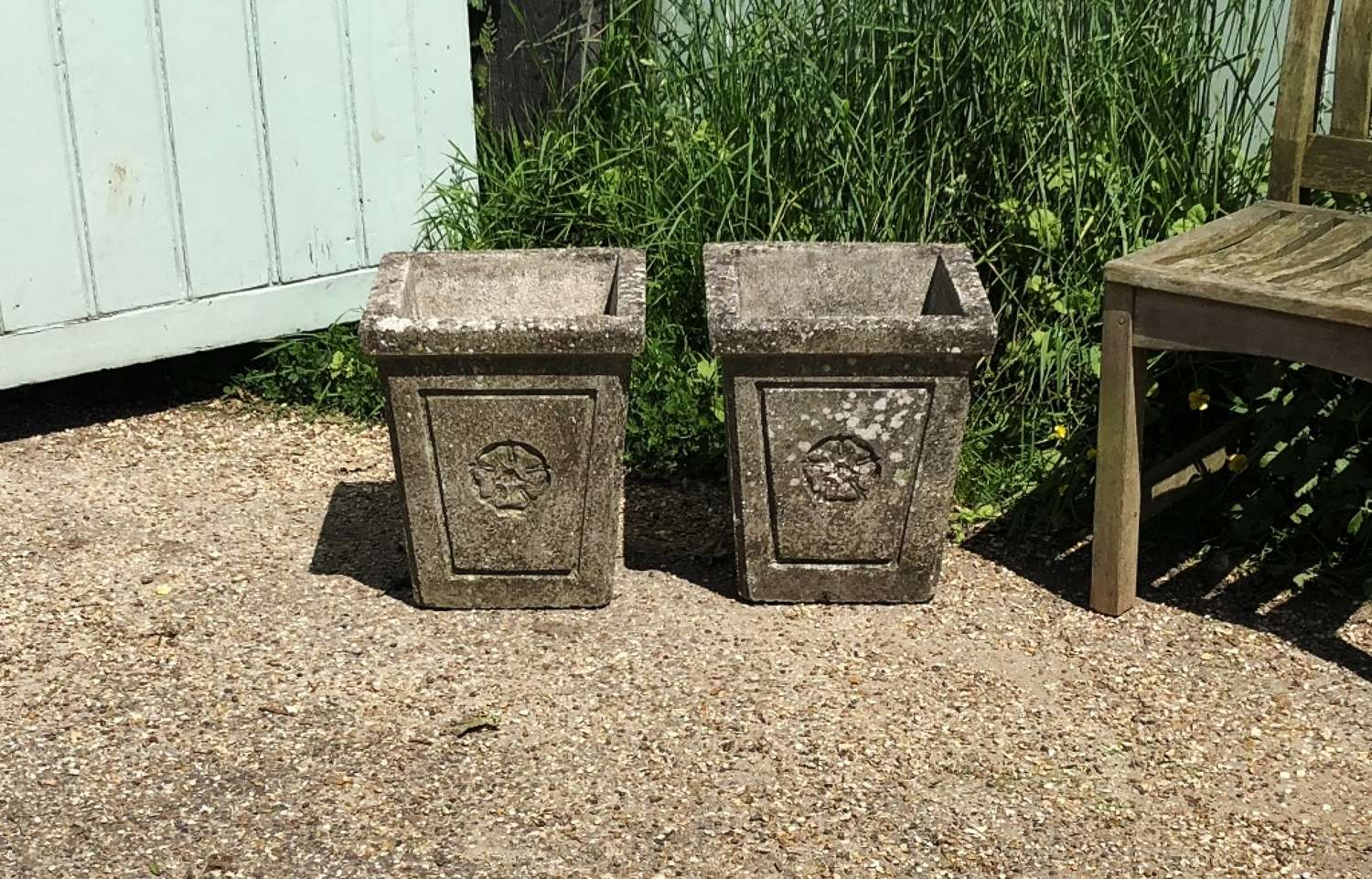 Pair of Rose Planters