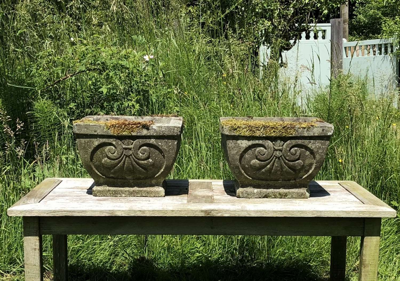 Pair of Deco Planters