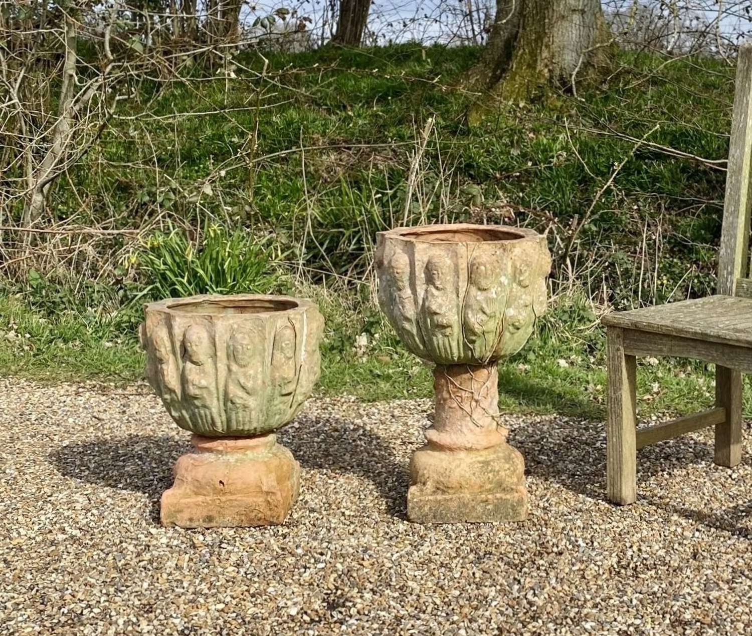 Pair of Quirky Planters