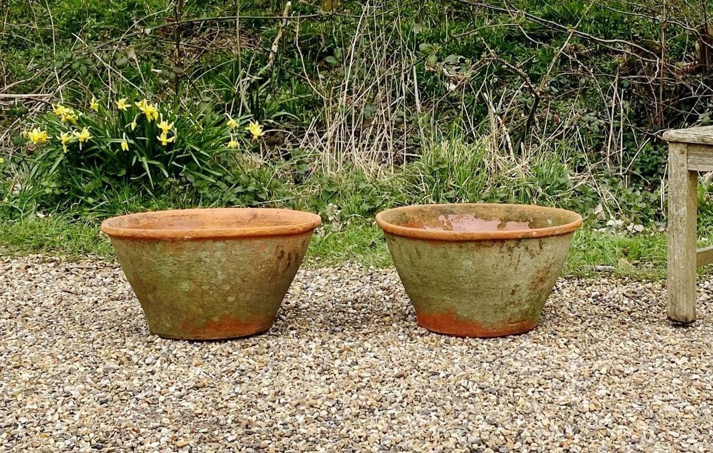 Pair of Terracotta Bowls