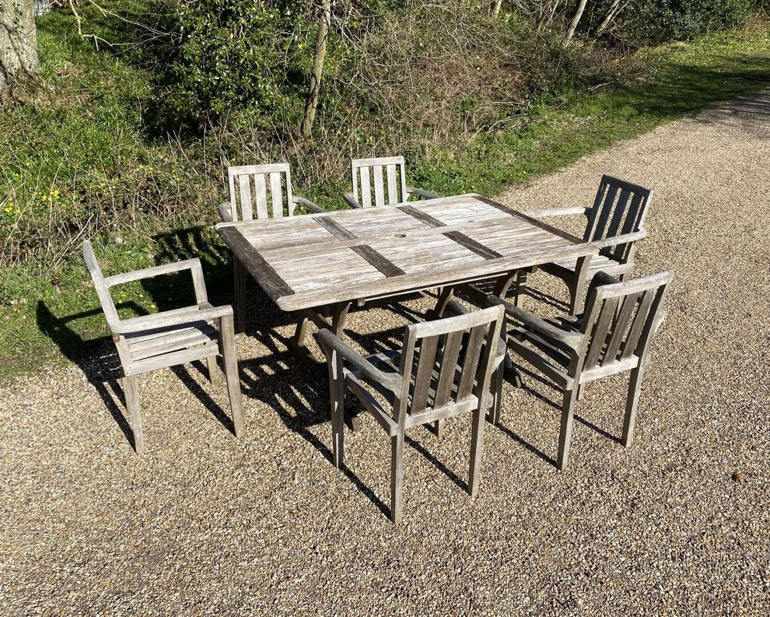 Seating Set with 6 Chairs
