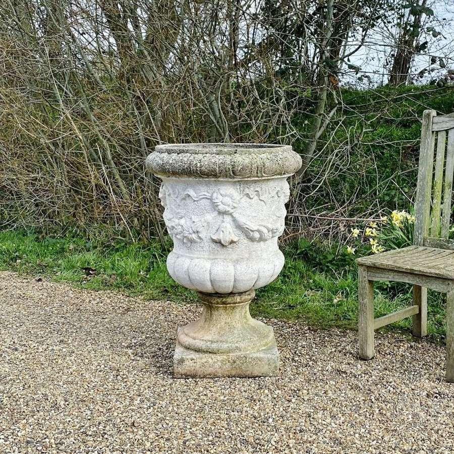 Large Garland Urn