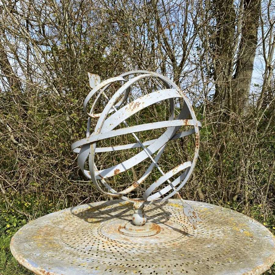 Decorative Iron Armillary