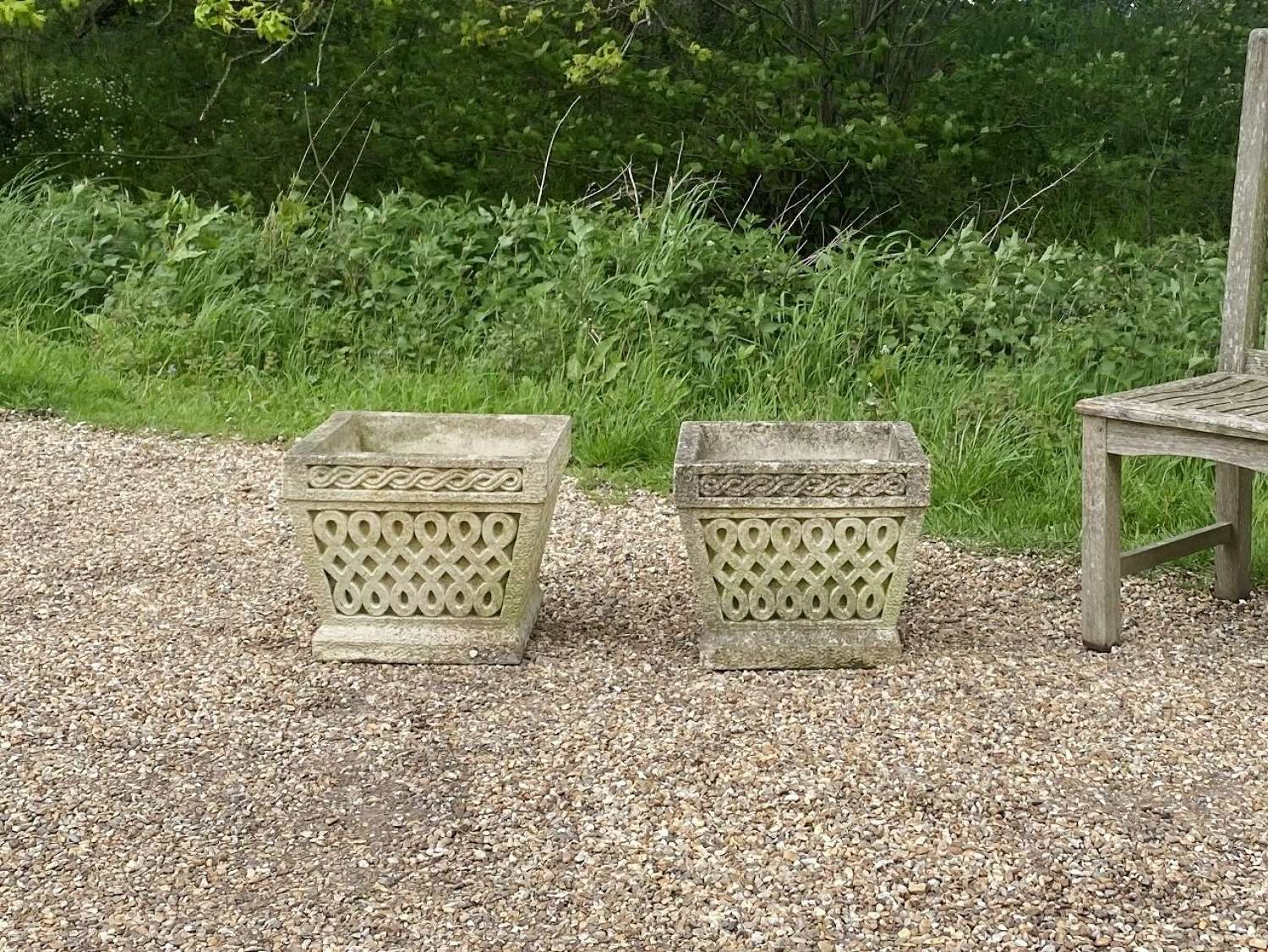 Pair of Cotswold Planters