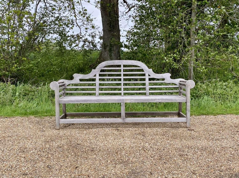 Extra-Long Lutyen Bench