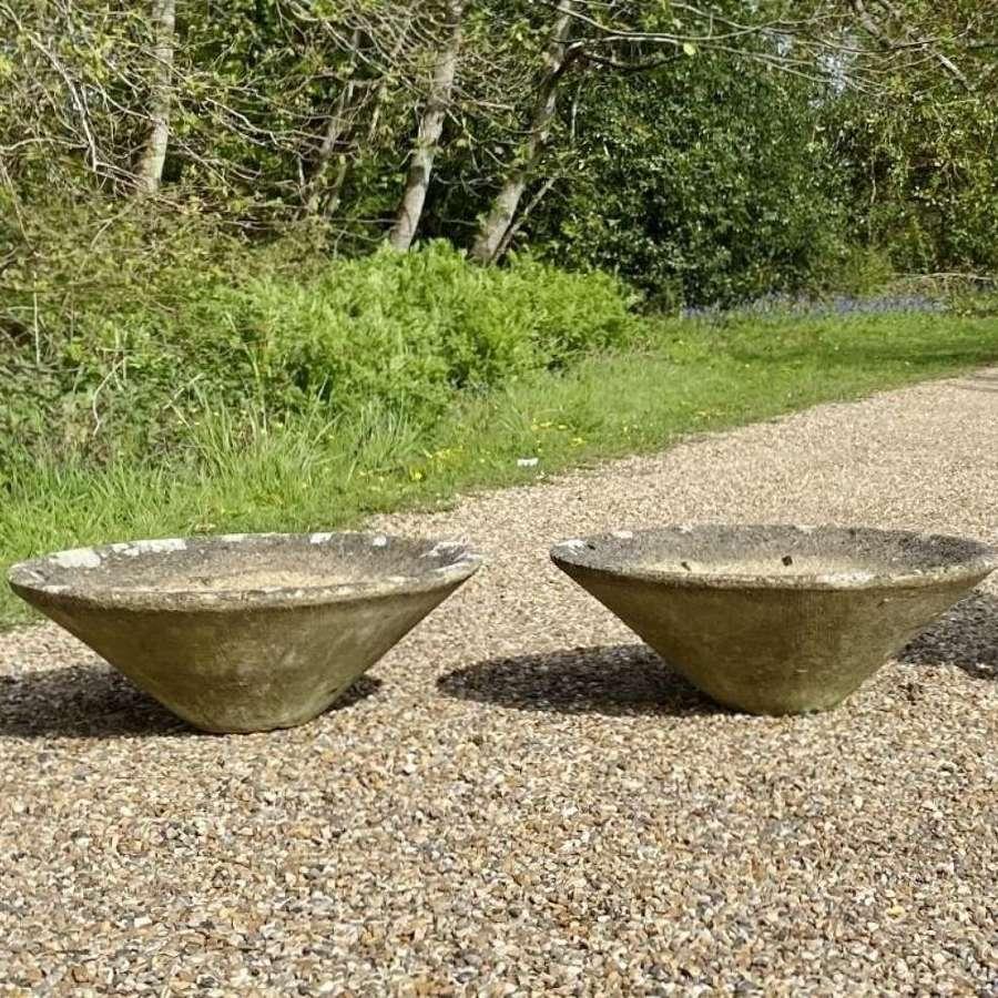Pair of Mid-Century Planters