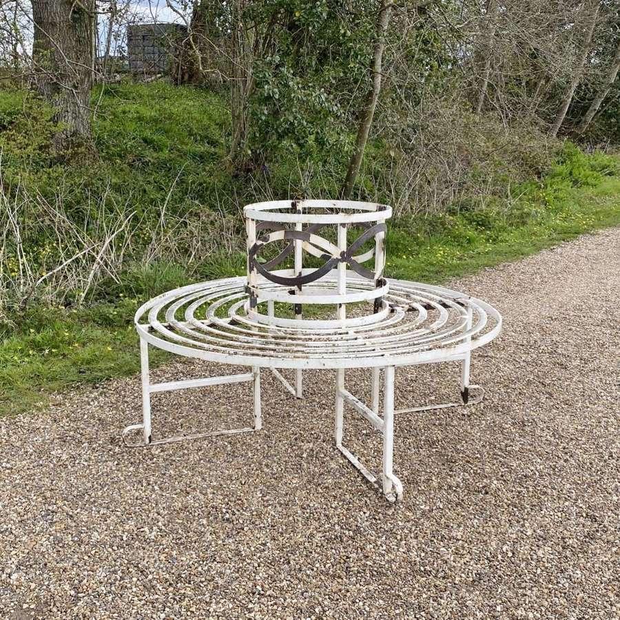 Strapwork Tree Seat