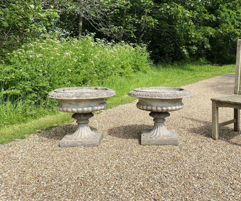 Pair of Sandford Urns