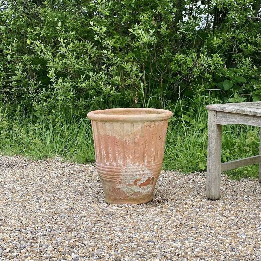 Small Weathered Terracotta Planter