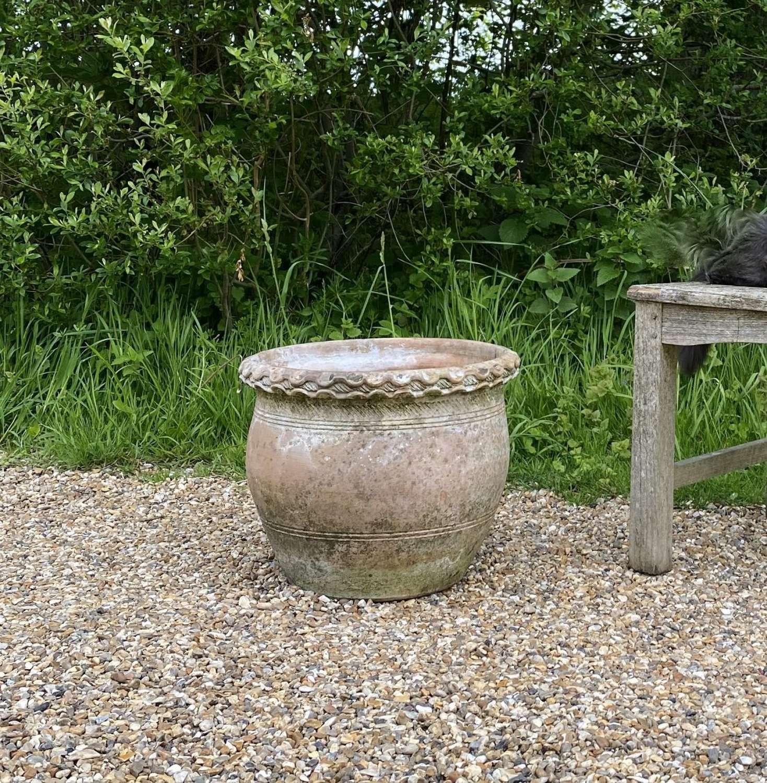 Small Decorative Terracotta Planter