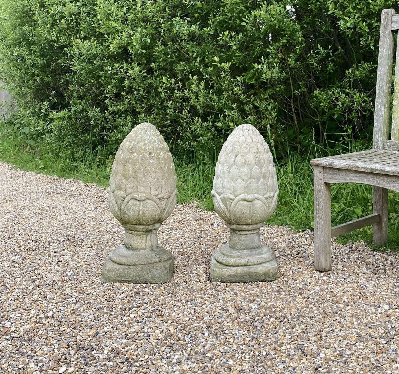 Pair of Decorative Finials
