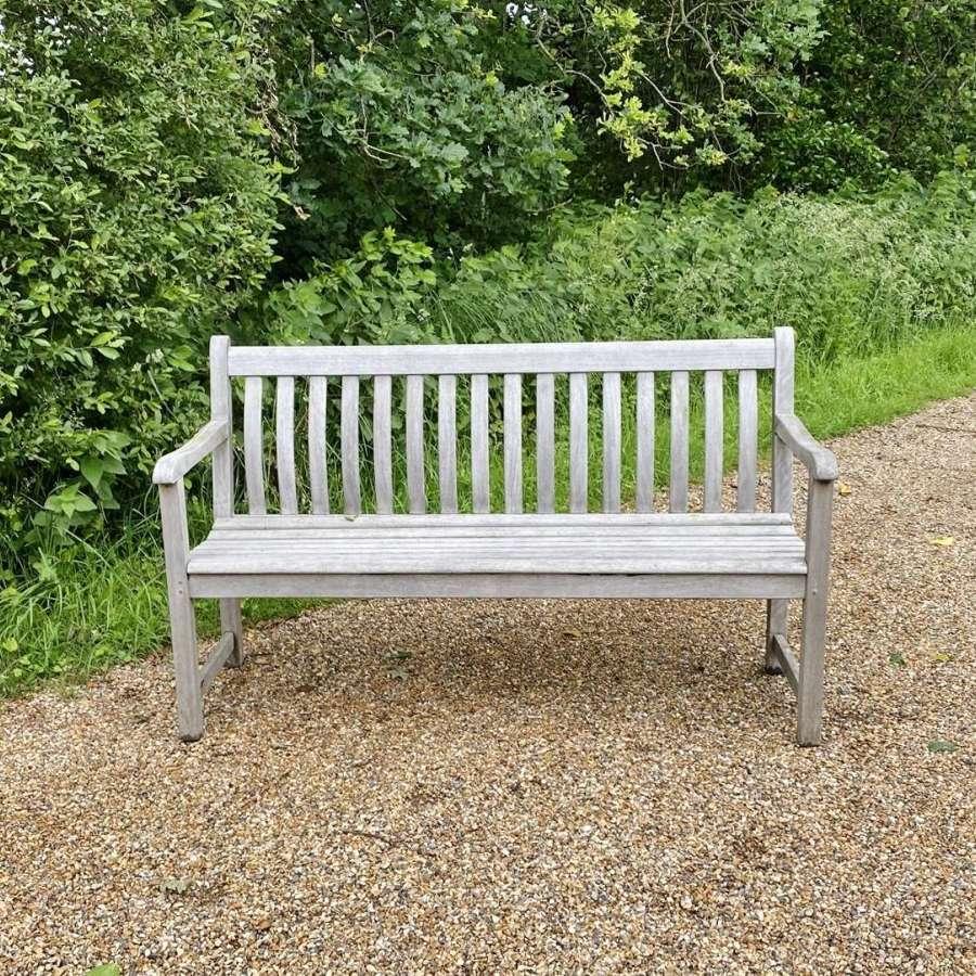 Silvered Bench