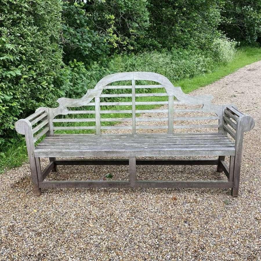 Long Lutyen Bench